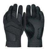 Golf esterno sintetico dei guanti di golf del ODM dell'OEM del cuoio di colore nero il il migliore mette in mostra gli accessori dei guanti