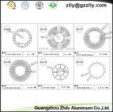 Het bespuiten het Profiel Heatsink van het Aluminium/het Product van het Aluminium