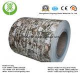 Алюминий покрытия цвета PE для зерна стены материального деревянного
