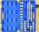 Ensemble de combinaison d'outils et d'accessoires de main de produit de plastique de soufflage de corps creux