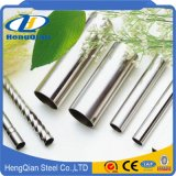 ISO 201 tubo de acero inoxidable inconsútil 202 304 para la decoración