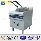 Aprobado CE Comercial Fabricación encimera eléctrica Freidora