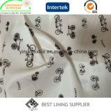 La belle Doublure imprimée de Pattern pour vêtements de femmes