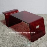 明確な有機性ガラスのコーヒーテーブル(BTR-A1010)