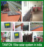 가정 5kw 10kw 15kw를 위한 고능률 태양 에너지 시스템