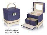 Коробка Ювелирных Изделий Милой Конструкции Пурпуровая Кожаный