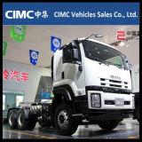 Cabeça do trator de Isuzu Vc46 6X4 350HP/prima novas - caminhão do motor/trator para