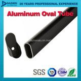 Profilo di alluminio di alluminio dell'espulsione per il tubo Rod rotondo ovale del guardaroba