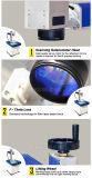 joyería portable de la marca de la etiqueta de plástico del laser de la fibra de 10W 20W 30W 50W, anillo, acero inoxidable