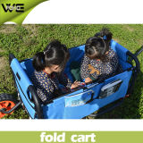 Outdoor Multifunction Storage Basket Folding Garden Beach Cart