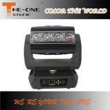 환상적인 롤러 광속 16X25W RGBW 4in1 LED 이동하는 맨 위 디스코 빛