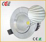 보장에 의하여 LED 아래로 점화하는 3 년을%s 가진 5W/7W/9W 옥수수 속 LED Downlight가 LED 스포츠에 의하여 점화한다