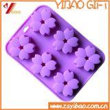 Muffa della torta del silicone della FDA con figura del fiore