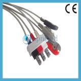 Cable de Philips 989803143181 M1986A ECG con los Leadwires