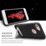 Caixa antiderrapante do telefone do móbil/pilha para o iPhone 7/7plus com Stander