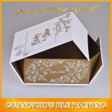折る包装のペーパーギフト用の箱の包装の習慣