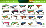 Table de billard bon marché de table de billard Billboard de table de billard de 7FT 8FT 8FT de haute qualité