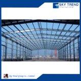 Planta industrial de la estructura de acero