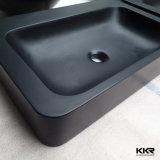 Modernes Badezimmer-Schwarz-Behälter-Wäsche-Bassin