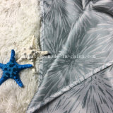 Cortina de ducha conmovedora de lino de la cortina de ventana