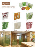 Decoratief Met de hand gemaakt Organisch Gehard Gelamineerd Glas