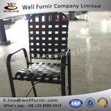 Nueva silla cruzada de la correa de Furnir 2017 bien con los apoyabrazos Wf-17031