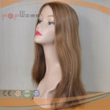 100% fill Handtied spots Higlight Color mono Lace PU Edge humanly Hair Toupee