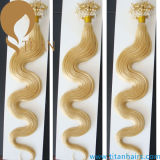 Estensione brasiliana dei capelli dell'anello del Virgin biondo micro (TT392)