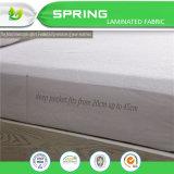 Las tallas modificadas para requisitos particulares impermeabilizan el protector de la base para la cama matrimonial