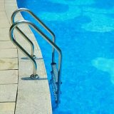 Acier inoxydable 304 Matériau Echelle de piscine Sf-315