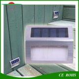 2LED白く暖かく白いステンレス鋼の庭の塀ライト小型の太陽LED壁階段は屋外のパスランプをつける