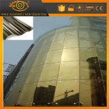 Жара излучая декоративную пленку окна здания стеклянную