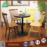 Petite table basse ronde de table basse italienne de modèle avec du bois