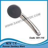Testa di acquazzone di plastica della mano dell'ABS di alta qualità (S01-304)