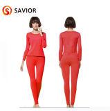 탄소 섬유 가열 격렬한 내복 가득 차있는 면 내복 세트