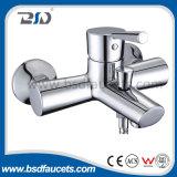 Escoger el mezclador del lavabo del Dr. Material Brass Chrome Watermark de la maneta