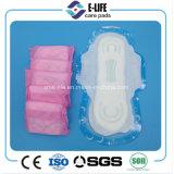 D'ions négatifs ultra mince respirant serviette hygiénique 290mm