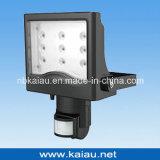 Indicatore luminoso di inondazione esterno di alta qualità con il sensore di PIR (KA-FL-12)