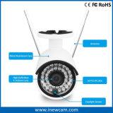 cámara impermeable del IP del punto negro del IR de la seguridad sin hilos del CCTV 4MP