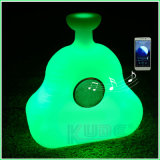 Bluetooth Speaker Bottle Design Wireless Table Lamp