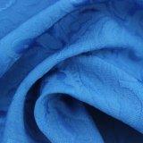 Tessuto della ratiera del fiore dell'azzurro reale