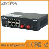 6 millions de bits Tx commutateur réseau d'accès d'Ethernet de Fx de 2 millions de bits