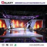 La publicidad al aire libre de interior del alquiler de P3.91 P4.81 RGB flexible instala la pared del vídeo de la visualización de pantalla del panel del LED