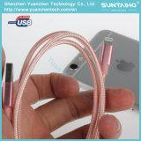 Câble rapide tressé en nylon de foudre de remplissage et de caractéristiques