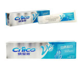 Verwendeter Universalqualitäts-Drucken gefalteter Zahnpasta-Papierkasten