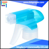 Gicleur en plastique blanc de bouteille de pulvérisateur de déclenchement