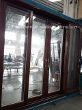 Woodwin Puerta corredera compuesta de madera y aluminio