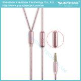 S1-02 Fashion de haute qualité dans l'oreille des écouteurs filaires pour téléphone mobile Lecteur MP3