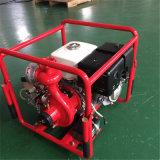 Bomba de agua de alto rendimiento con Honda Motor y bastidor