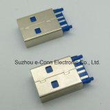 고속 USB3.0 유형 땜납 연결관
